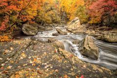 Beautiful Berea Falls In Autumn Stock Image