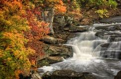 Beautiful Berea Falls In Autumn Stock Images