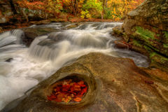 Beautiful Berea Falls In Autumn Royalty Free Stock Photo