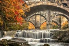 Beautiful Berea Falls In Autumn Royalty Free Stock Images