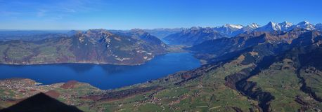 Beautiful Bernese Oberland Royalty Free Stock Images