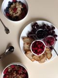 Beautiful Berry Breakfast Royalty Free Stock Images