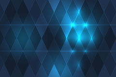 Beautiful BG with diamonds in blue color. Beautiful Background with diamonds in different colors vector illustration