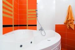 Beautiful big bath Royalty Free Stock Photo