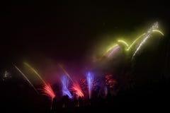Beautiful big fireworks Stock Photography