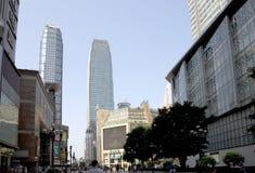 Beautiful big modern city Chongqing Royalty Free Stock Photos