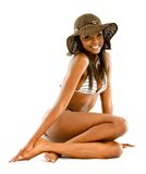 Beautiful bikini girl Royalty Free Stock Photos