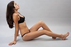 Beautiful bikini girl in lingerie Royalty Free Stock Photography