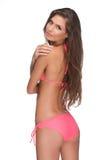 Beautiful bikini model. Royalty Free Stock Photo