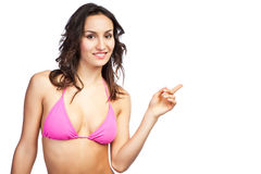 Beautiful bikini woman Royalty Free Stock Photography
