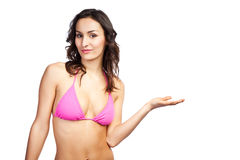 Beautiful bikini woman Stock Images
