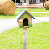 Beautiful bird house Royalty Free Stock Photo