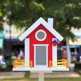 Beautiful bird house Stock Image