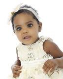 Beautiful Black Baby Stock Image
