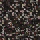 Beautiful black decorative seamless mosaic pattern design. Modern interior mosaic tile stock image