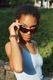 Beautiful black girl Stock Image