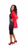 Beautiful black girl. Royalty Free Stock Photography