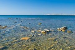 Beautiful Black Sea in Crimea Royalty Free Stock Photo