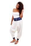Beautiful black teenage girl Royalty Free Stock Photos
