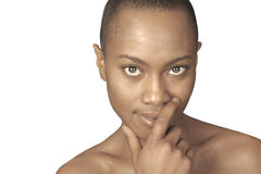Beautiful Black woman Stock Photos