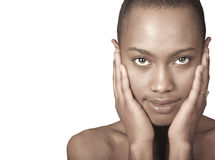 Beautiful Black Woman Stock Image