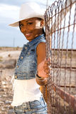 Beautiful black woman. Royalty Free Stock Images