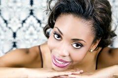 Beautiful black woman Royalty Free Stock Photos