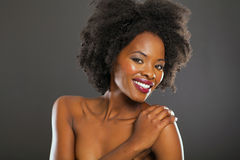 Beautiful black woman Royalty Free Stock Images