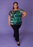 Beautiful Black woman Royalty Free Stock Images