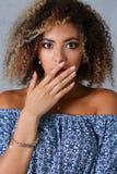 A beautiful black woman portrait Royalty Free Stock Photo