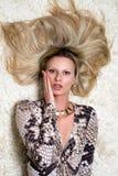 Beautiful blond Stock Photos
