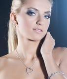Beautiful blond Stock Photography