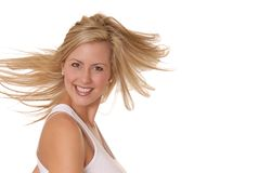 Beautiful blond 19 Royalty Free Stock Photography