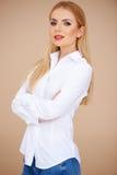 Beautiful blond Royalty Free Stock Photography