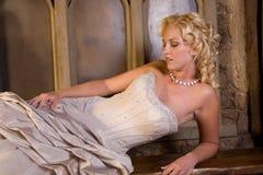 Beautiful blond Stock Image