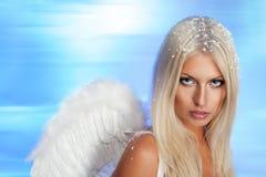 Beautiful blond angel Royalty Free Stock Image