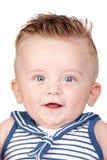 Beautiful blond babe with blue eyes Royalty Free Stock Image