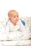 Beautiful blond baby girl Stock Photography