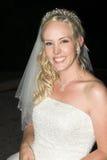 Beautiful Blond Bride Royalty Free Stock Photos