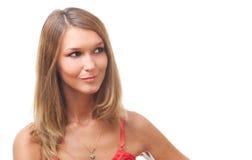 Beautiful blond girl Stock Photos
