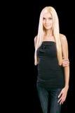 Beautiful blond girl Stock Photography