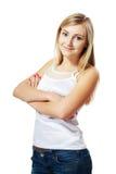 Beautiful blond girl Stock Image