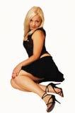 Beautiful blond girl. Royalty Free Stock Photos