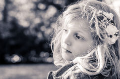Beautiful blond girl Royalty Free Stock Photos