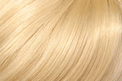 Beautiful blond hair. Background, coloured hair Royalty Free Stock Images