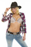 Cowgirl Royalty Free Stock Photo