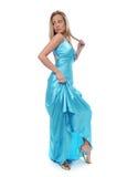 Beautiful blond teen model Stock Image