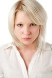 Beautiful blond teenage girl on Stock Photography