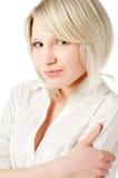 Beautiful blond teenage girl on Stock Photos