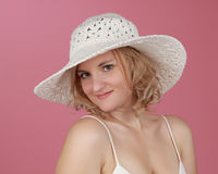 Beautiful blond woman Stock Images